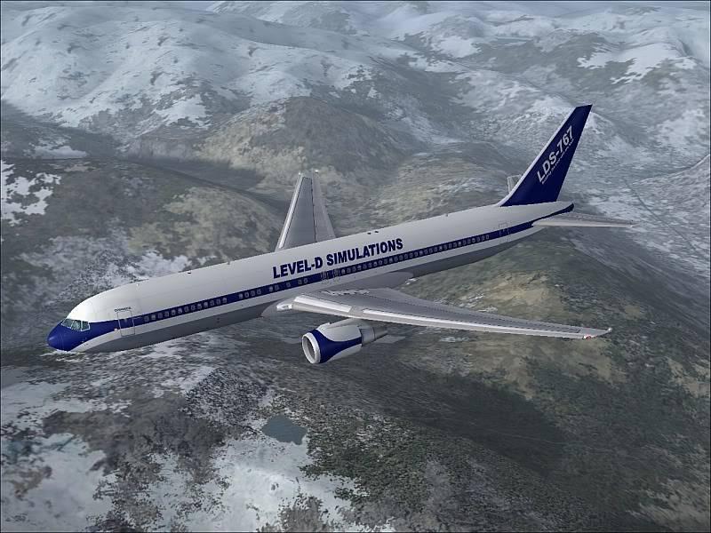 My new Boeing 767-300ER