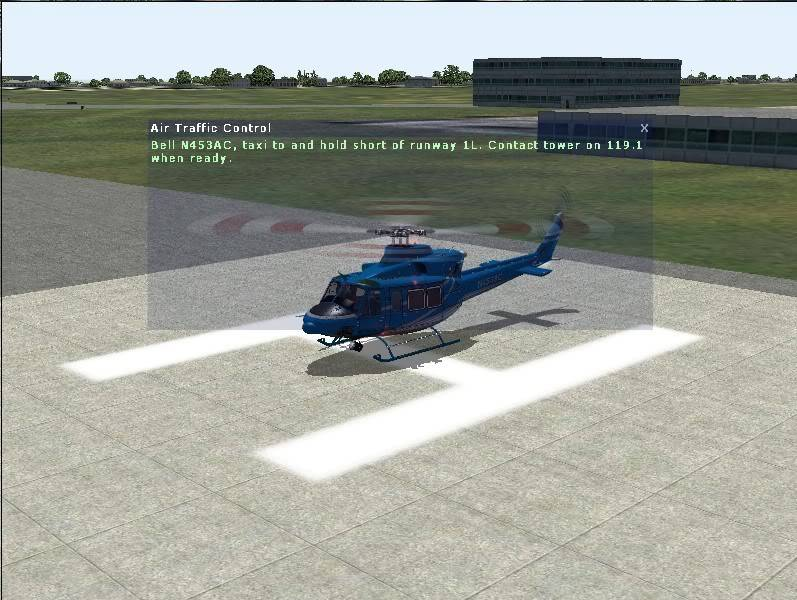 Helicopter Training in the Bell 412
