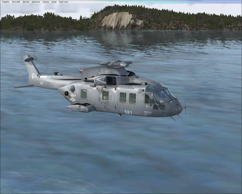Alright, FSX Acceleration Screenshots: EH-101 Helicopter